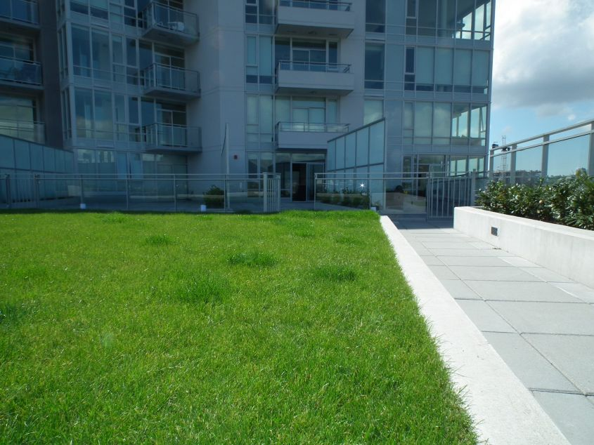 1 Bedroom + Den pet friendly condo in the heart of Olympic Village with huge patio and views of water and mountains!