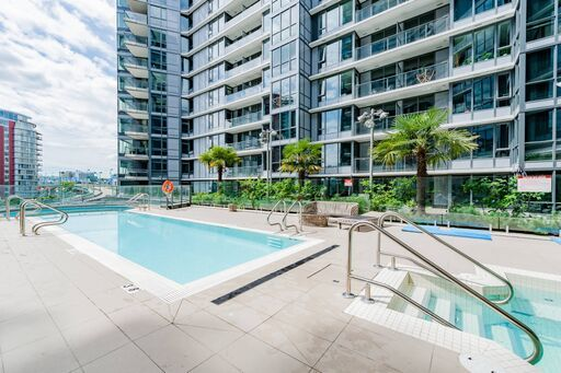 Elegant 2 Bed/2Bath Facing Pool For Rent in Downtown's ONE PACIFIC
