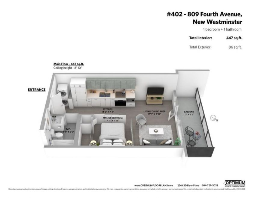 #402 LOTUS 809 Fourth Avenue, NEW WESTMINSTER